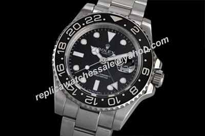 Swiss Rolex New Style 116710LN-78200 GMT-MASTER II Black Dial Oyster Watch LLS096