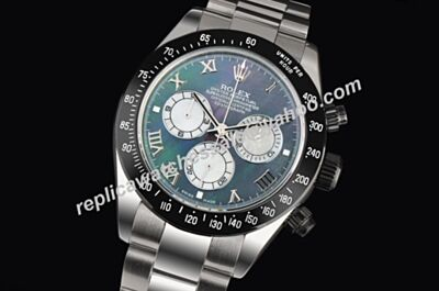 Brand New Swiss Made Rolex PXD Edition Ltd Daytona Blue Mop 40mm Watch LLS098