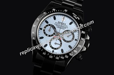 New Swiss Rolex Ltd PXD Edition Daytona Blue Dial 40mm Watch LLS117