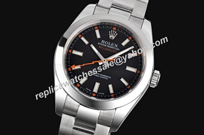 Rolex Swiss Movement Milgauss Stainless Steel Men Automatic Watch Lls198