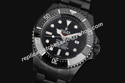 Rolex Swiss Made Sea-Dweller 116660 BLSO Steel All Black Watch LLS218