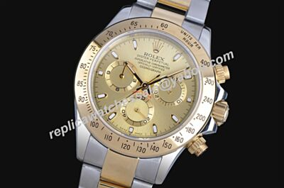 Swiss AAAAA Rolex 18k Daytona Newman Gold Face Automatic Movement 40mm Watch LLS222