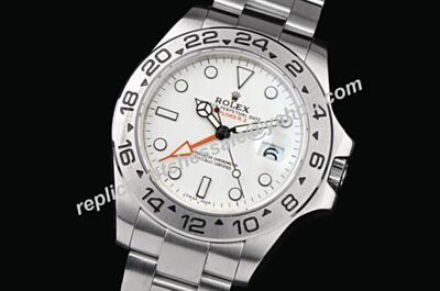 Swiss Made Rolex 216570 Explorer Ii Steel White Dial Mens Automatic Watch LLS337