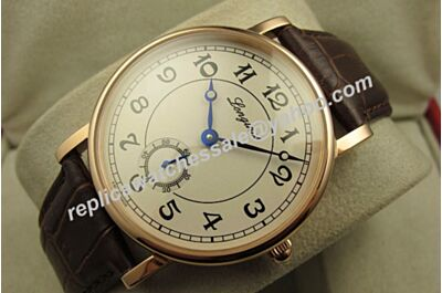 Longines Heritage Conquest 40mm L4.785.8.73.2 Spacial Champagne Gold Face Automatic Watch LQ064