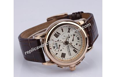 Montblanc Star  Chronograph Mens REF  U0113847 Date Rose Gold 44mm Gents Watch