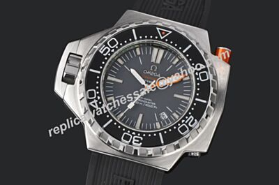 Omega Seamaster 1200m/2000ft Chrono 224.32.55.21.01.001 Luminous Scale Black 48mm Diver's Watch OMJ020