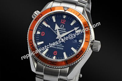Swiss Rep Omega Seamaster Divers Luminous Markers Silver SS Watch OMJ027