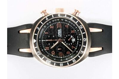 Oris Williams TT3 Chronograph titanium 677.7590.77.64.RS Date Rose Gold Watch