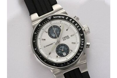 Fake Gents Oris Moto Sport Chronograph Silver Quartz Dials Repeater Watch