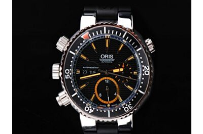 Oris Diving Oris Carlos Coste Limited Chrono Dial Repeater Black Watch