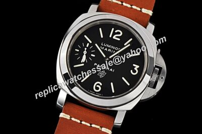Cheap Panerai Luminor Marina Logo Auto Movement Acciaio Stainless Steel Strap Watch