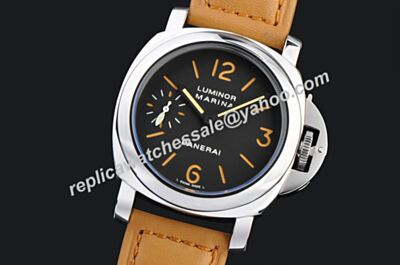 Low Price Panerai Luminor Marina 44MM Automatic Acciaio Rose Gold Markers Watch