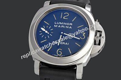Panerai Luminor Marina Special Edition Blue Face 44mm Steel Watch