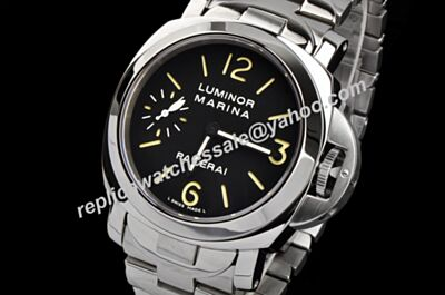Panerai 2000 Luminor Marina Ref PAM69 Steel Automatic No Date 40mm Bracelet Watch