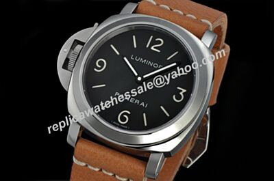 Panerai PAM00390 Luminor Base Left Crown 44mm Auto No Date Black Watch