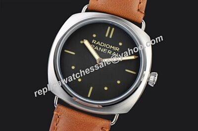 Panerai Radiomir S.L.C 3 Days Acciaio Duplicated Men 18kt Silver Bezel Watch