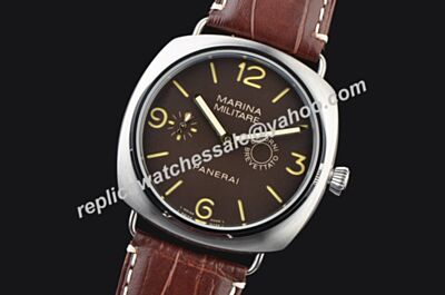Panerai Radiomir Composite Marina Militare Giorni 8 Days Unique edition 45mm Men Strap Watch