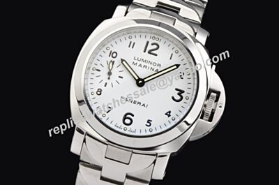 Panerai Luminor Marina Automatic Acciaio Special Stainless Steel Bracelet Watch