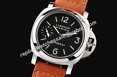 Cheap Rep Panerai Luminor Marina 44mm 18K White Gold SS Case Watch