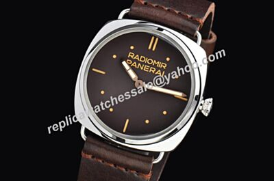 Panerai Radiomir S.L.C 3 Days Acciaio 47mm PAM00577 Cheap New Brown Watch