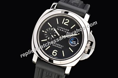 Swiss Made Panerai  Luminor Marina Pam00104 44mm Automatic Steel Watch PNH083