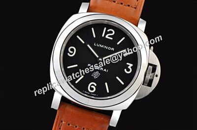Panerai Luminor Base Logo 18kt White Gold Luminous Scale SS 44MM Watch