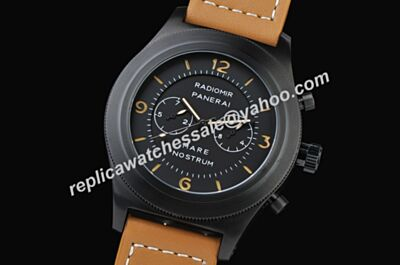 Brand New Panerai Radiomir Mare Nostrum Acciaio Automatic Luminous Scale Chrono Watch