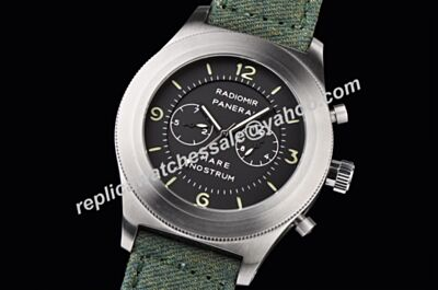 2017 New Panerai PAM00369 Radiomir Mare Nostrum Chronograph 45MM Men Steel Watch Clone