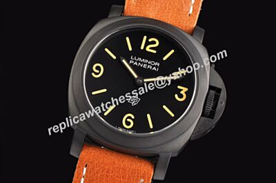 Cheap Panerai Ref PAM00360 Luminor Base Logo Auto Luminous Markers 44mm Watch