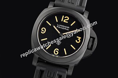 Panerai Luminor Base 44mmm Auto Special Edition All Black Replicated Watch