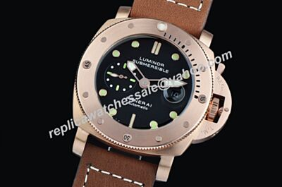 Panerai PAM 382 Luminor Submersible Power Reserve Automatic 47mm Strap Watch