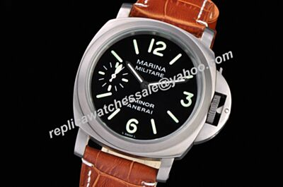 Panerai Luminor Marina Automatic Acciaio Titanium Steel Black 44mm Watch