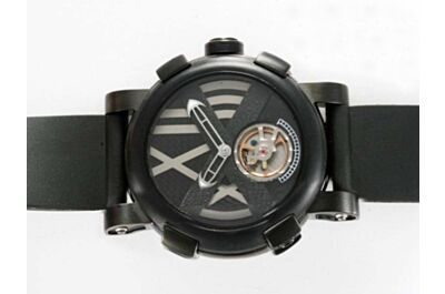 Romain Jerome Titanic-DNA  Tourbillon Ref TO.T.OXY3.BBBB.00 T-OXY III Black Watch Replica