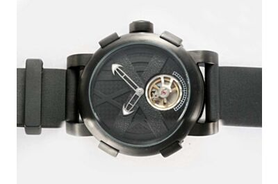 Romain Jerome Titanic-DNA Tourbillon Auto Movement Carbon Black Bezel No Scale Watch