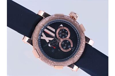 Romain Jerome Titanic DNA Chronograph Ref CH.T.OXY3.2222.00 Oxy  18k Rose Gold 24 Hours Watch