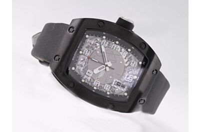 Richard Mille Ref RM 010 Ti 48mm Automatic Movement Date Replica titanium Black Watch