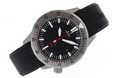 Sinn UX Swiss Boys Ref  403 Date White Gold Bezle 44mm Red Hand Watch Sinn006