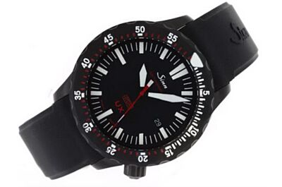 Swiss Rep Sinn 403.55746 UX EZM 2 B SDR Hydro Date Mens All Black Watch Sinn007