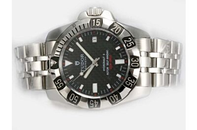 2017 Tudor Hydronaut II 20020 Black Face White Gold Auto Date Watch