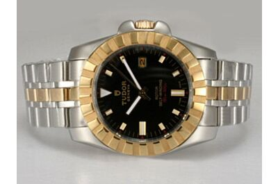 Tudor Prince Date Ref 89193P-93553 Oyster Submariner  Black Dial Watch Clone
