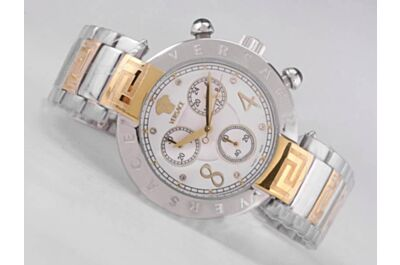 Ladies Versace Reve Chrono PVA803-P0013 2-Tone Bracelet 24Hours Watch