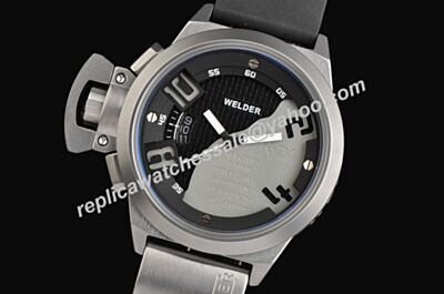Welder Men's K24-3003 AUTOMATIC Analog Stainless Steel Round Date Watch Replica