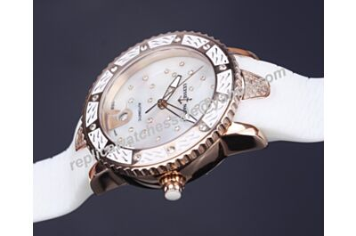 Ulysse-Nardin Marine Ref 8156-180E-3C/20   Diver Diamonds Girls Automatic Watch Fake