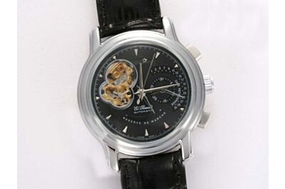 Zenith El Primero Tourbillon Chronomaster 03.2080.4021/21.C496 Black Power Reserve Watch Replica