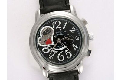 Zenith El Primero Chronograph Power Reserve Special EDT Heart Shape Tourbillon Fake Watch